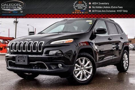 jeep cherokee power wheels 2017 jeep cherokee new car limited 4x4 navi pano sunroof