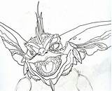 Gremlins Gremlin Coloring Deviantart Sketch Gizmo Printable Britt Spike Draw Template Sketches Finger Mouse Computer Sheets Tattoo Horror Dibujo Coloriage sketch template