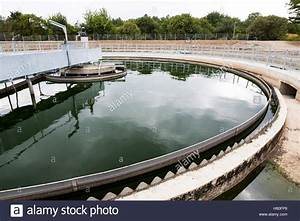 The Solid Contact Clarifier Tank In Water Treatment Plant