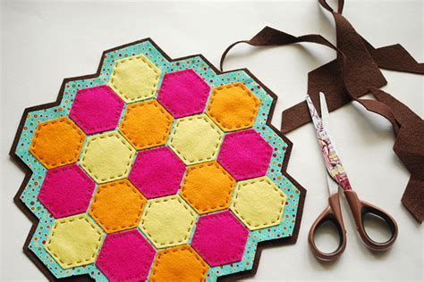 7 trendy and chic diy hexagon craft projects for the home