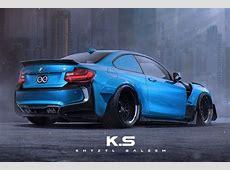 BMW M2 Coupé mit i8Bodykit Virtuelles BreitbauTuning