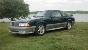 92 Mustang GT 5.0 V8 racing supercharged low miles green tko 3.55 for sale: photos, technical ...