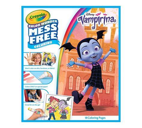 Книга раскраска с фломастерами Вампирина серия Color
