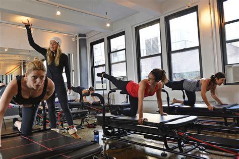 megaformer workout  slt studio   york times
