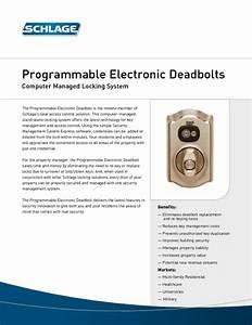 Programmable Electronic Deadbolt 619 Manuals