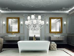 elegant come il bagno in una villa di lusso with bagni marmo di lusso