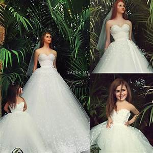 2015 mother daughter matching dresses white sweetheart With matching mother daughter wedding dresses