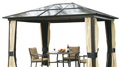dach für pavillon pavillon mit festem dach