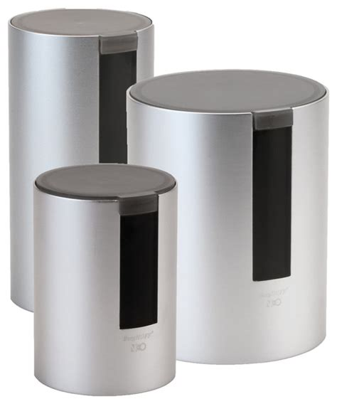contemporary kitchen canister sets berghoff international inc neo 3 canister set