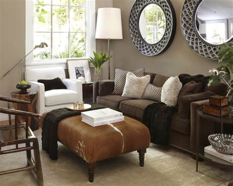 Brown Sofa Decorating Living Room Ideas by Brown Leather Living Room Ideas Get Furnitures For