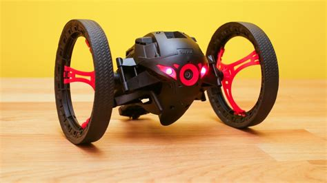 parrot minidrone jumping sumo review grab  video  ground level  spinning rolling