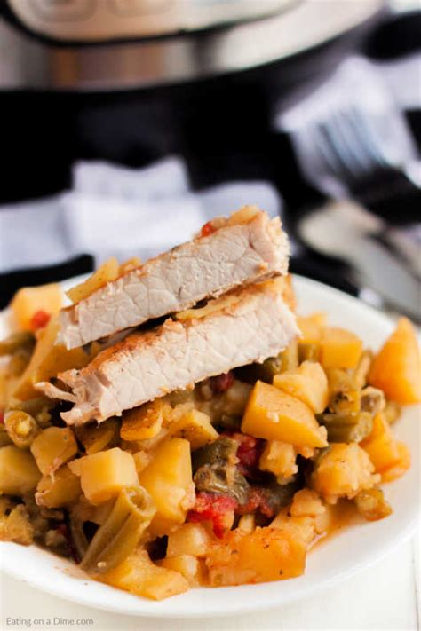 The instant pot is my best friend when it comes to making dinner like instant pot pork chops. Instant Pot Frozen Pork Chops And Potatoes - Honey Garlic ...