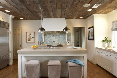repurpose kitchen cabinets barn board ceiling home modern bungalow 4769