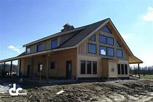 awesome pole barn home on barn home kits custom barn home With barn homes in colorado