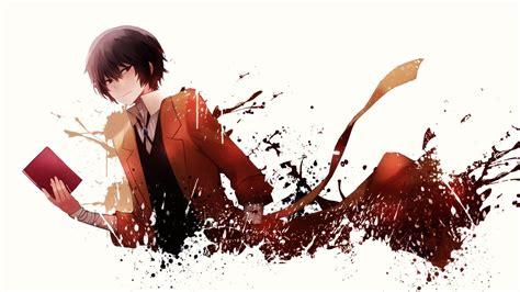 Brown haired man wearing coat wallpaper, minimalism, dazai osamu. Dazai Osamu Wallpapers - Top Free Dazai Osamu Backgrounds - WallpaperAccess