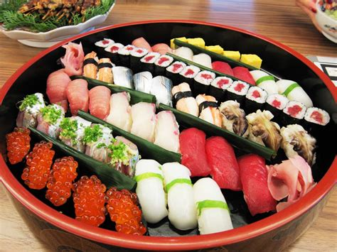 cuisine sushi japanese sushi travelercomments