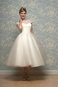 20 of the most vintage tea length wedding dresses for With tea length wedding dresses for older brides