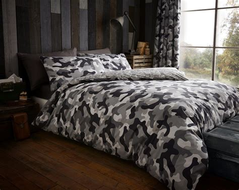Army Camouflage Camo Military Duvet Quilt Cover Bedding