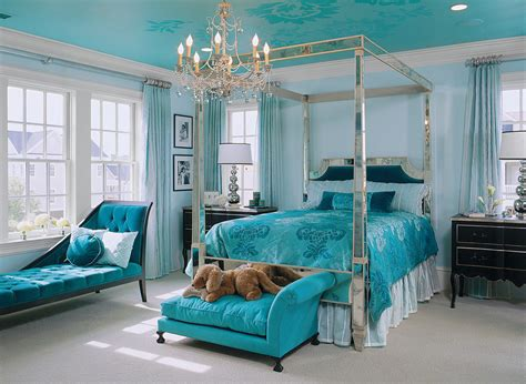 turquoise bedrooms 10 turquoise and black bedroom interiors colour combos
