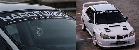 Custom Stickers & Banners  Hardtuned Car Clothing & Racewear
