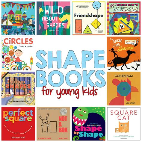 18 shapes books for readers that will make 484 | shape books young kids