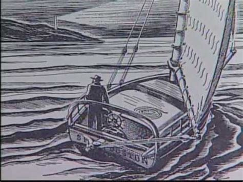 Boat Journey Drawing by The Extraordinary And Epic Journey Of Joshua Slocum