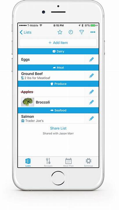 App Shopping Grocery Lists Anylist Create Iphone
