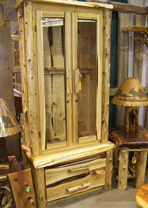 handcrafted rustic gun cabinet products  love gun