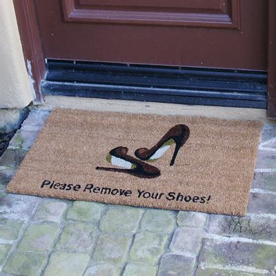 4965 remove your shoes doormat shoes on or shoes in the house the struggle is real