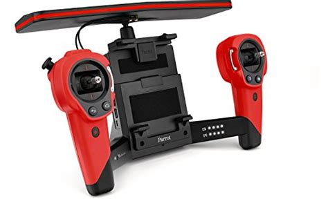 parrot sky controller  bebop quadcopter drone red  deals toys