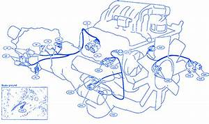Nissan B15 1998 Engine Electrical Circuit Wiring Diagram