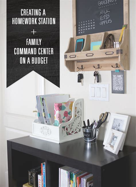 family command centers  idea room