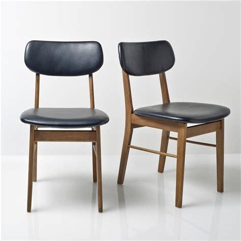 chaise redoute chaise hévéa lot de 2 quilda la redoute interieurs