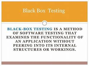 Ppt Types Of Software Testing Powerpoint Presentation
