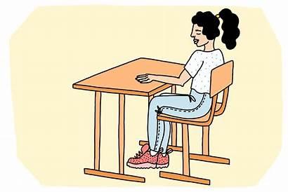Supplies Desk Sitting Donate Animated Teen Locallove