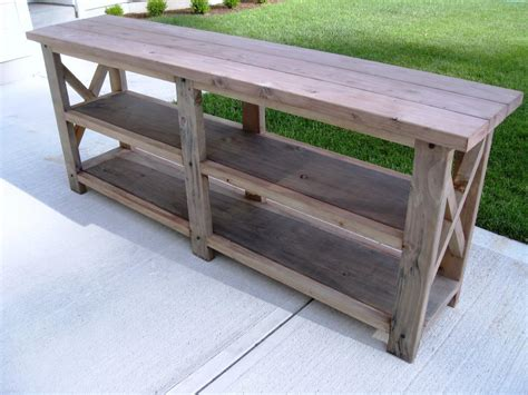 how to a console table rustic sofa table console warm and beautiful rustic sofa