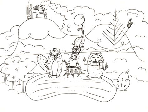 tea party coloring pages costumepartyrun