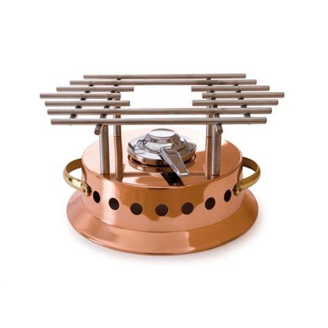 mauviel cuisine réchaud à flamber en cuivre mauviel