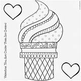 Ice Cream Coloring Pages sketch template