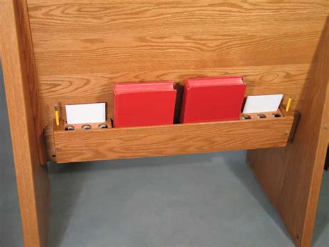 card pencil and communion cup holder pews and church