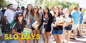 SLO Days Parking - New Student & Transition Programs - Cal ...