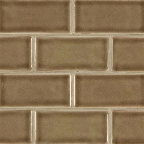 3x6 subway tile buy artisan taupe glazed 3x6 handcrafted subway tile