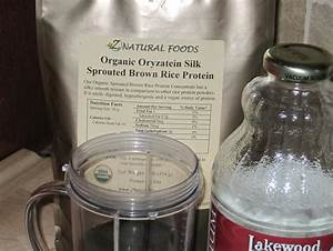 Are You Looking For A 100  Pure Organic Brown Rice Protein Powder
