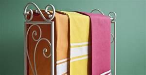 DALANI Porta asciugamani in ferro battuto: stile vintage