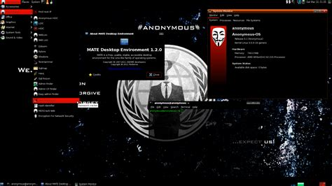anonymous desktop os released hacking tools included