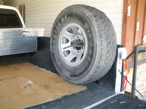 Side/bed Mount Spare Tire Carrier For Pickup?