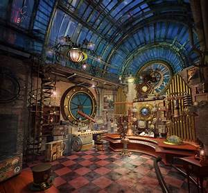 Geek Art Gallery: Interior Design: Steampunk Electro Organ
