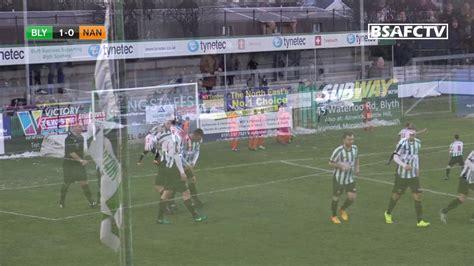 Match Highlights - Blyth Spartans vs. Nantwich Town - YouTube
