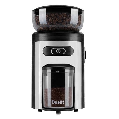 The coffee is more flavourful and delicious. Dualit Electric Burr Coffee Grinder | Wayfair.co.uk