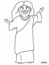 Jesus Coloring Bible Printable Cartoon Template Baptism Clipart Sheet Activity Lazarus Superhero Stories Doubting Thomas Coloringpagebook Library Popular Coloringhome Pdf sketch template